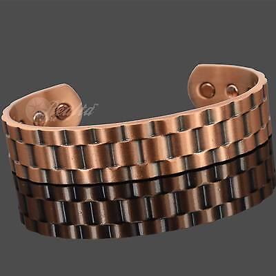 Mens Copper Bracelet For Arthritis Bracelet Bio Magnetic Therapy Bracelet Rolx