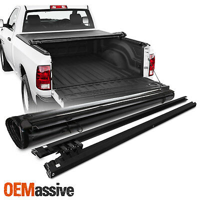 """Tonneau Cover For 2009-18 Dodge Ram 1500 2010-18 2500 3500 78"""" Bed Soft Roll Up"""