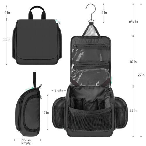 Premium Travel Hanging Toiletry Bag for Men and Women 1