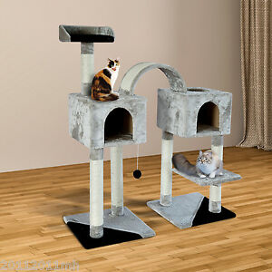 PawHut-45-Cat-Tree-Scratching-Scratcher-Condo-Pet-House-Post-Furniture-New