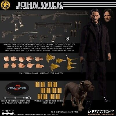 MEZCO One:12 Collective John Wick Chapter 2 Deluxe Edition Figure Brand New