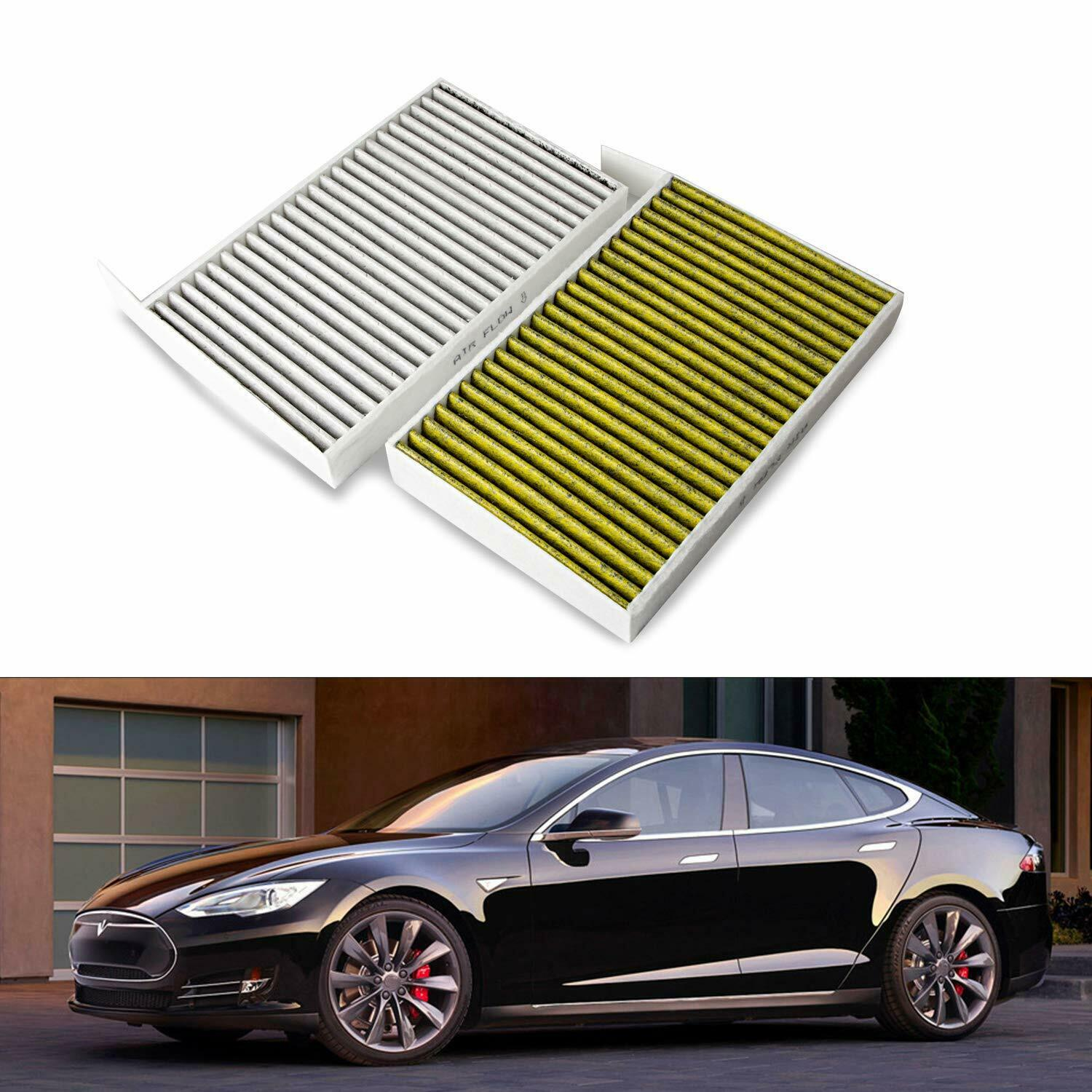 Car Air Cabin Filter Replacement with Activated Carbon Compatible Model X Tesla Model X