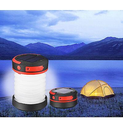 LED Campingleuchte Campinglampe Zeltlampe Laterne Nachtlicht Wasserdicht faltbar