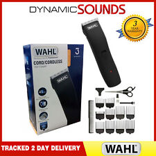 WAHL 9655-417 Mens Rechargeable Hair Clipper Kit Cord/Cordless Trimmer Set