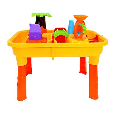 NEW! Toddlers Kids Childrens Sand Water Table Toy With Accessories