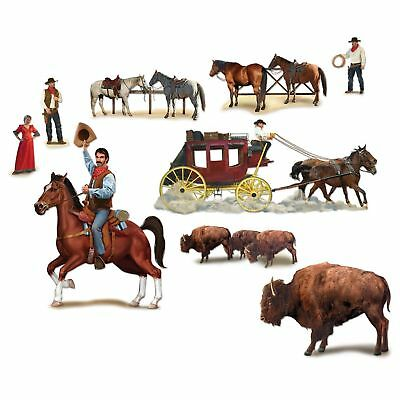 Western Party Supplies Wild West Character Props Insta - Halloween Insta Theme
