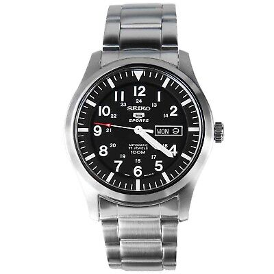 Seiko Men's SNZG13 Seiko 5 Automatic Stainless-Steel Bracelet Watch SNZG13K1