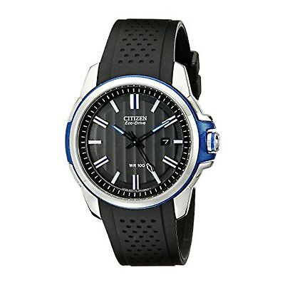 Citizen AW1151-04E Men's AR Black Eco-Drive Watch