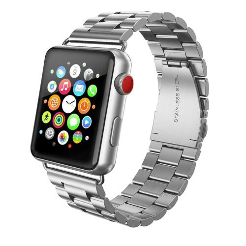 Metal Strap For Apple Watch Series 6 5 4 3 2 3844mm Stainless Steel iWatch Band