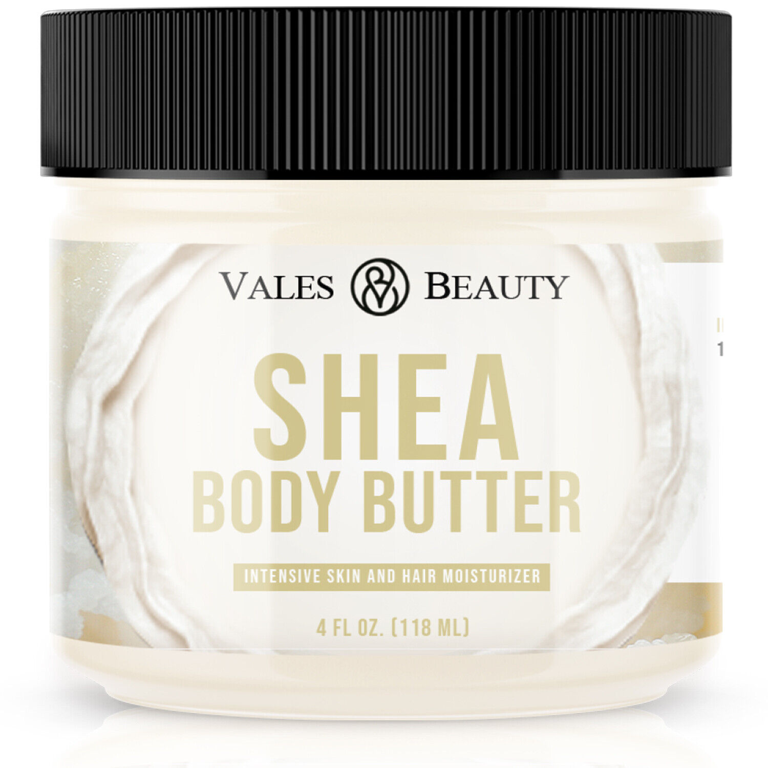 Raw African Shea Butter Ivory Organic 4 oz For Dry Skin Ecze