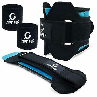 CIPPSER Premium Ankle Weights for Women & Men | Adjustable Size Leg Glutes Worko ()