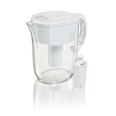 NEW Brita 10 Cup Everyday Water Pitcher with 1 Filter, BPA F