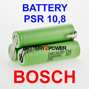 Bosch PSR 10,8 Li replacement battery Li-Ion 10,8V spare parts Cordless drill