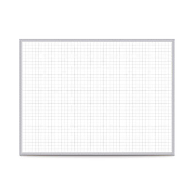 Ghent 1x1 Grid Magnetic Whiteboard - 3h X 4w 1 Ea