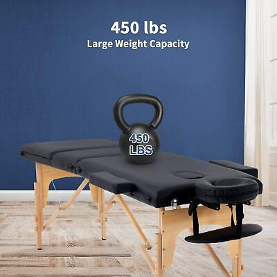 """Massage Table Massage Bed Spa Bed 73"""" Long 24"""" Wide Portable Massage Health & Beauty"""