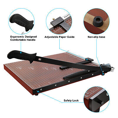 New Wooden Professional Office Home A2-b7 Paper Desk Tops Paper Cutter Trimmer