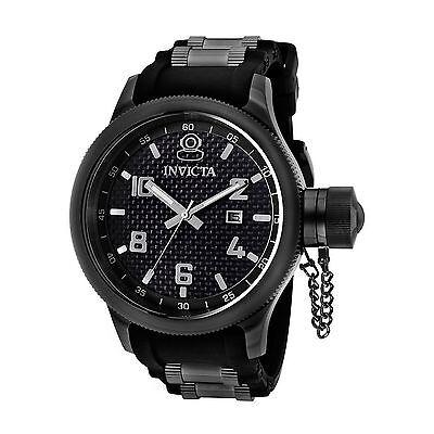 Invicta 0555 Men's Russian Diver Gunmetal Quartz Watch