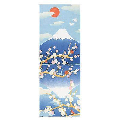 Hamamonyo Nassen Tenugui Towel Inverted Image Of Mt Fuji