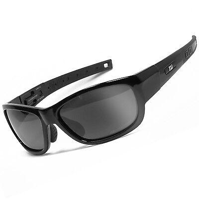 POLARIZED Motorradbrille Biker Brille Sonnenbrille für Herren und Damen