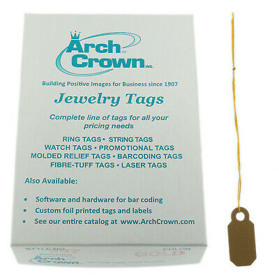 500PC Price Merchandise Sale Discount Tags Strings STRUNG Shipping Retail Store