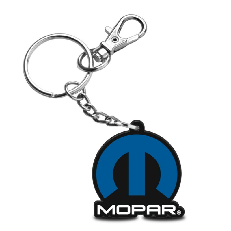 Mopar Custom Laser Cut with UV Full-Color Printing Acrylic Charm Key Chain