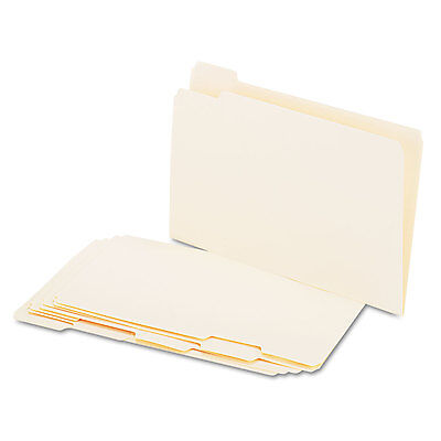 Universal File Folders 15 Cut Assorted One-ply Top Tab Legal Manila 100box