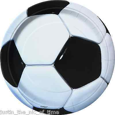 FOOTBALL THEME Boys Birthday Party Tableware Paper Plate 7