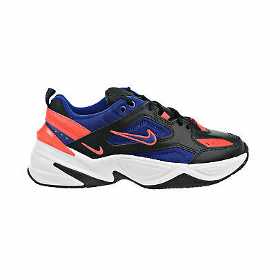 Nike M2K Tekno Mens Shoes Black Deep Royal Blue Bright
