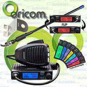 ORICOM-UHF300- CB-RADIO-80-CHANNEL + RUBBER DUCKY ANTENNA + Z MOU Abbotsford Yarra Area Preview