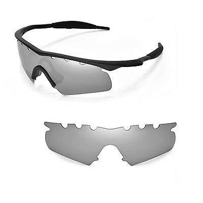 0a9e8e330823 New WL Polarized Titanium Vented Replacement Lenses for Oakley M Frame  Hybrid