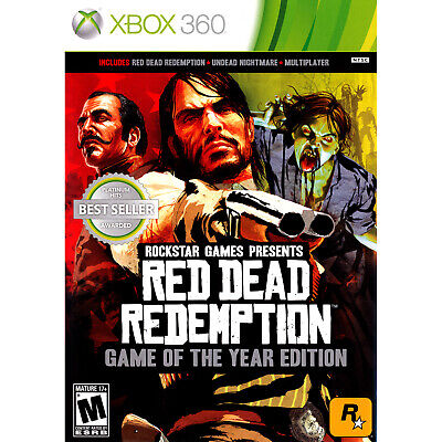 Red Dead Redemption - Game of the Year Edition Xbox 360 [Brand (Red Dead Game Of The Year Edition)