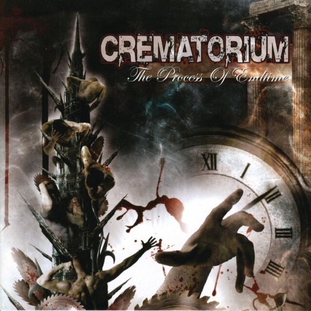 CREMATORIUM - The Process of Endtime - CD - Neu OVP - Deathcore