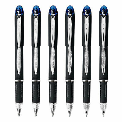 Uni-ball Jetstream Stick Rollerball Pen 1.0mm Bold Point Blue Ink 6-count