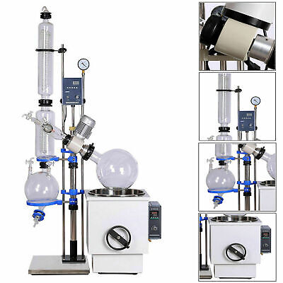 20l 0-180rpm New Lab Rotary Evaporator And Circulating Water Vacuum Pump