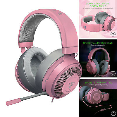 Gaming Headset Razer Kraken Pro V2 for PC PS4 Xbox One Switch & Mobile Devices