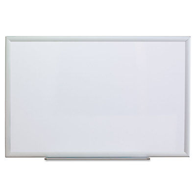 Universal Dry Erase Board Melamine 36 X 24 Aluminum Frame 44624