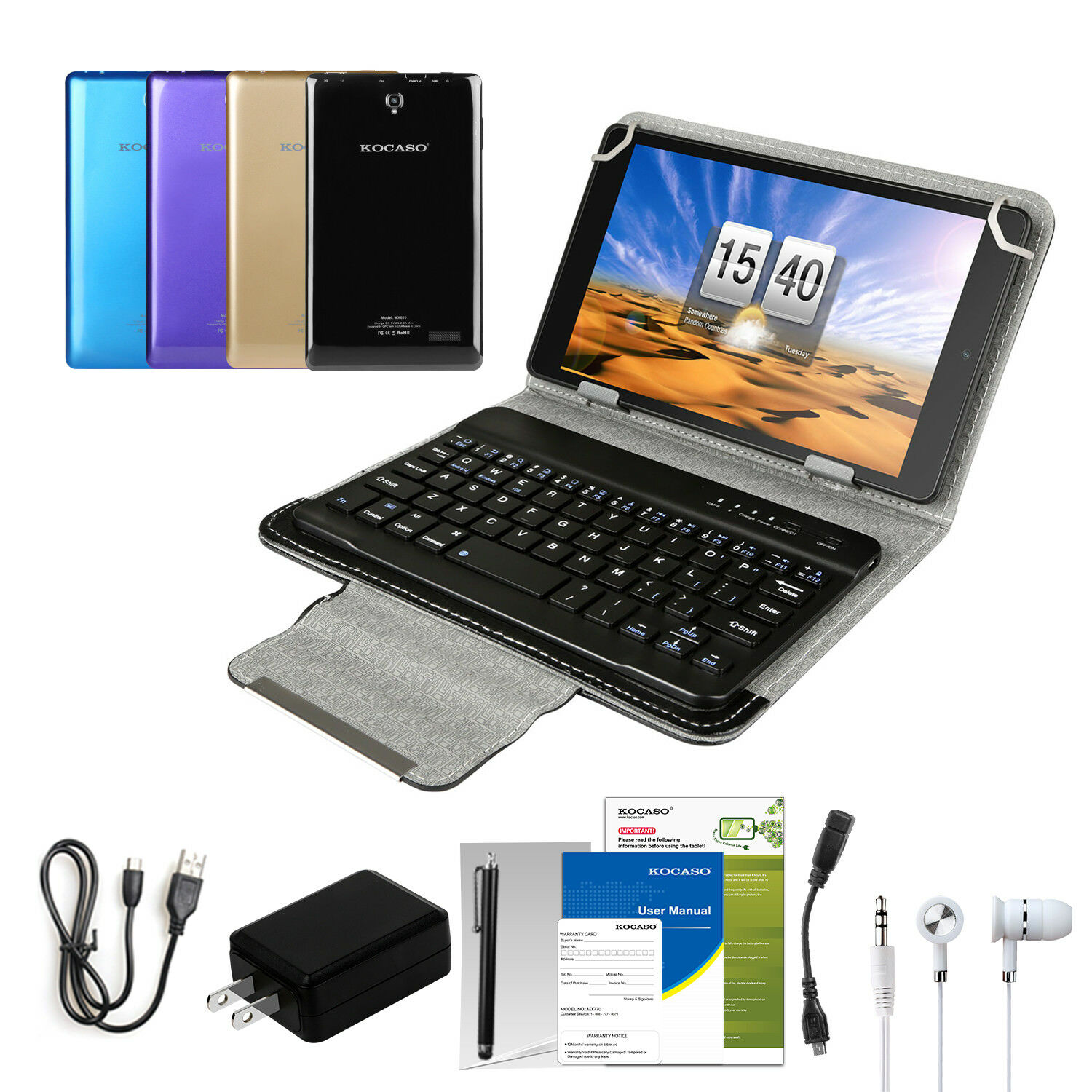 8'' android 6.0 tablet pc quad... Image 0