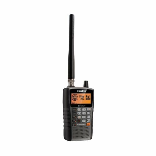 Uniden Bc125at 500 Alpha Tagged Channel Bearcat Handheld Scanner Police Fire New