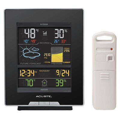 AcuRite 02008A Wireless Color Weather Station-Forecasts Temperature Humidity etc