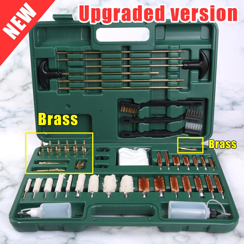 USA Universal Gun Cleaning Kit Rifle Shotgun Pistol Firearm Hunting for All Guns Cleaning Supplies