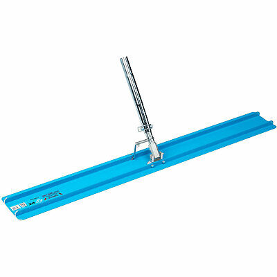 Ox Tools 48 Inch Aluminum Concrete Bull Float Smooth Leveling Cement Finisher