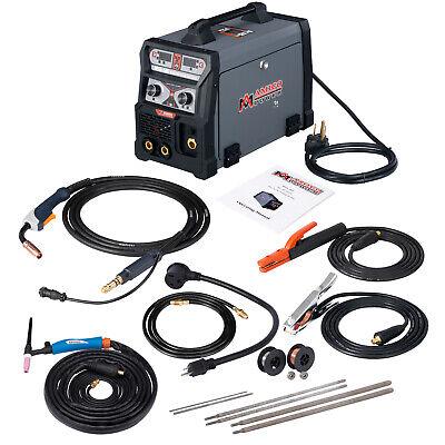 Amico 165 Amp Mig Wire Feederflux Cored Tig Torch Stick Arc Dc Welder Welding