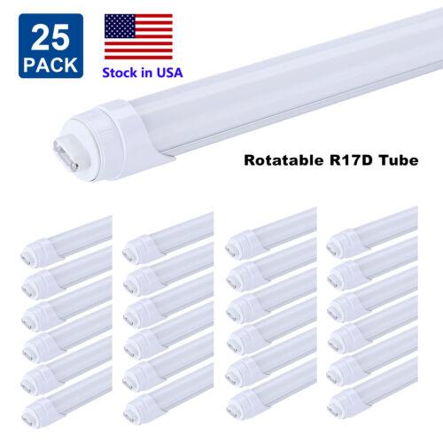 R17D 8FT T8 LED Tube Light 45W 8ft Led Bulbs Milky Cover 600