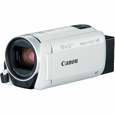 Canon VIXIA HF R800 HD Video Camcorder, White