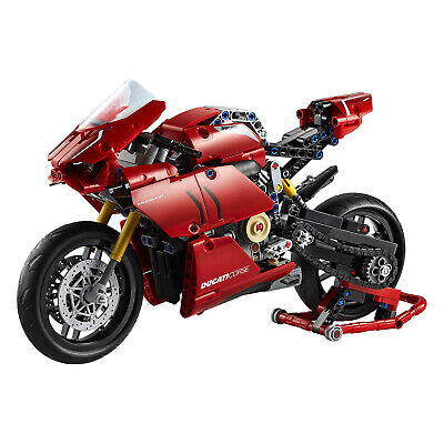 LEGO Technic Ducati Panigale V4 R 646 Piece Block Set Toy Model Motorcycle(Used)