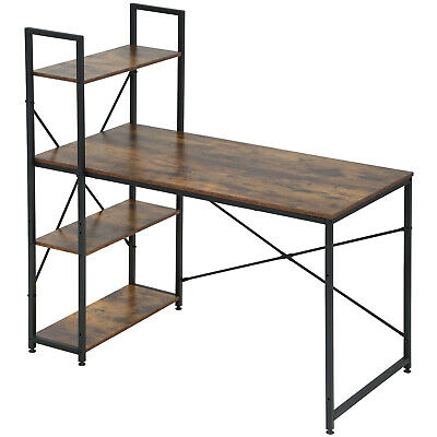 """Computer Desk with Bookshelf Office Desk Gaming Desk Extra Large 47.2""""W x 23.6 W Furniture"""