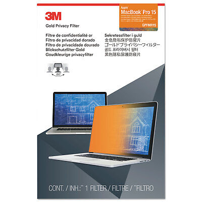 """3M™ Gold Privacy Filter for 15"""" Apple® MacBook Pro® with Retina® (2012-2015)"""