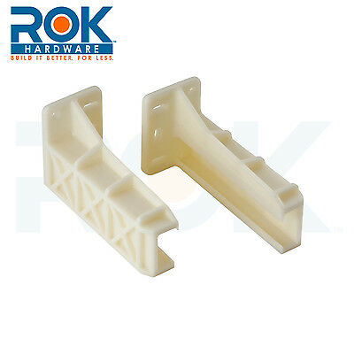 PAIR of REAR MOUNTING BRACKETS FOR DRAWERS SLIDES  BLUM / KV  602300