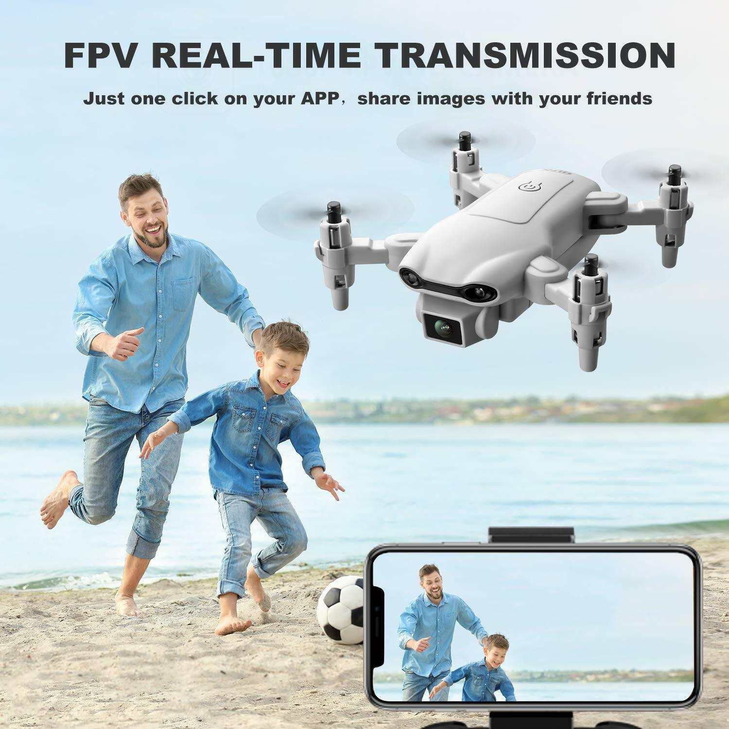 2021 New RC Drone 4k HD Wide Angle Camera WIFI FPV Drone Dual Camera Quadcopter