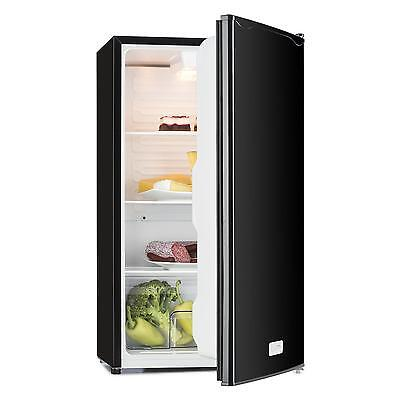 Compact refrigerator fridge drinks chiller icebox beerkeeper 92 l A+ black